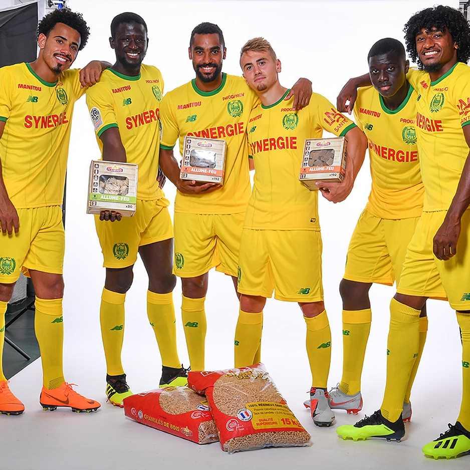 Flamino Sponsor Officiel du FC Nantes pour la Ligue 1 Conforama