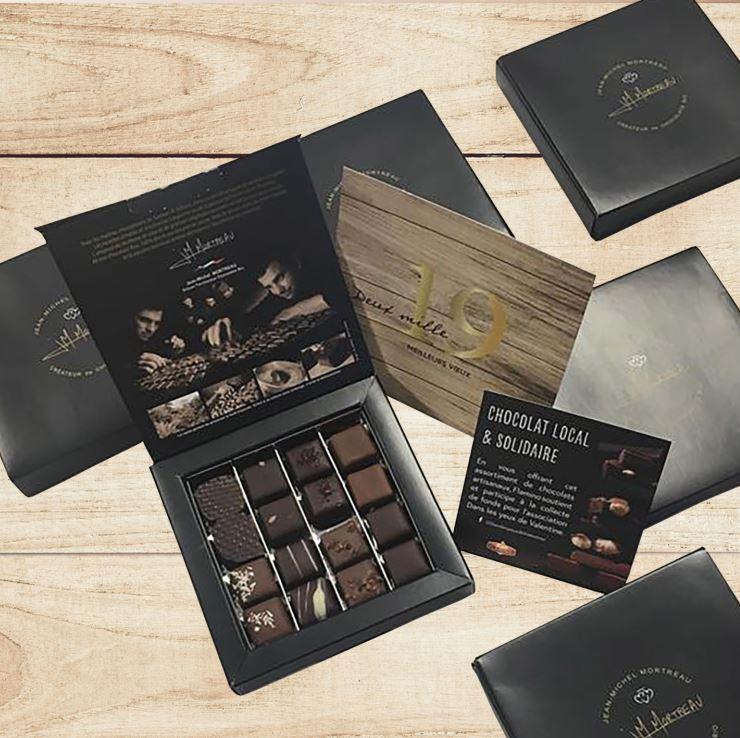 boite chocolat dans les yeux de valentine