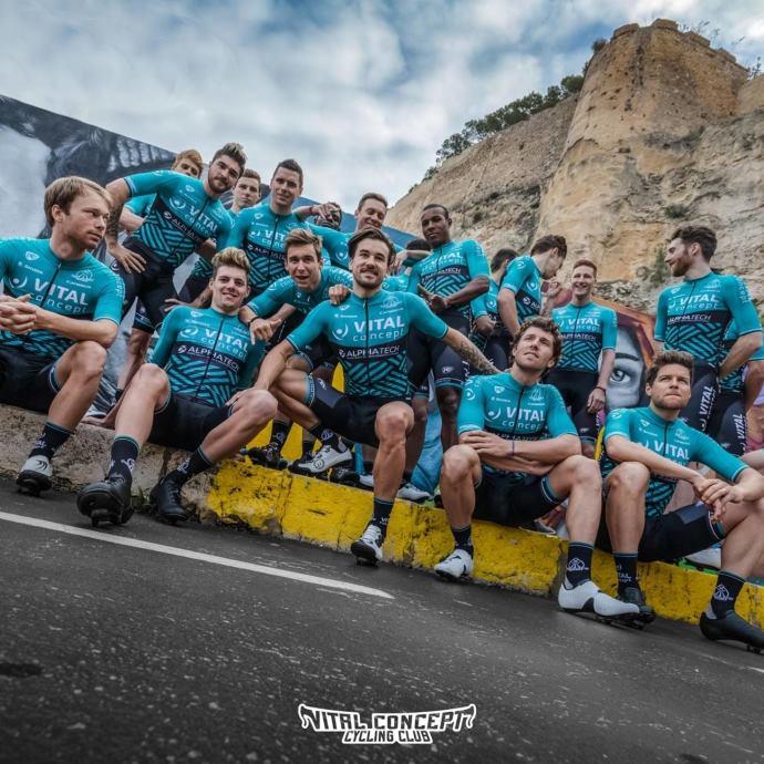 partenaire vital concept cycling club flamino